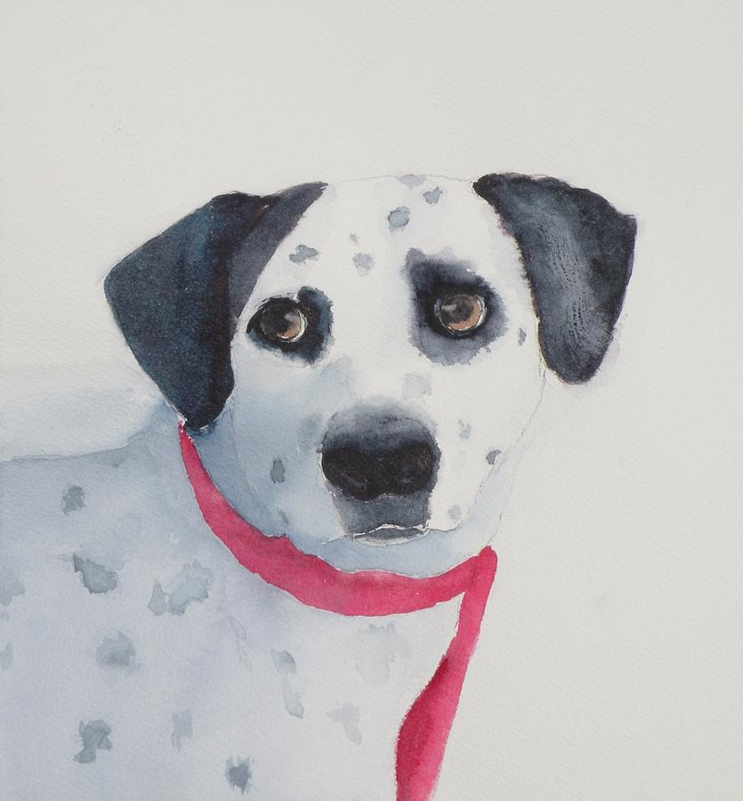 Animal Painting - Quincy by Lori Chase