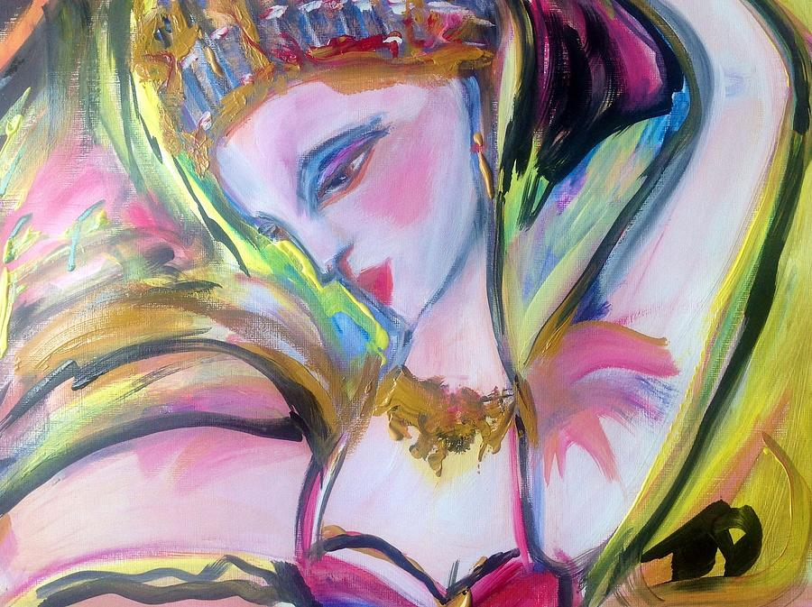 Quite Painting - Quite The Dancer by Judith Desrosiers