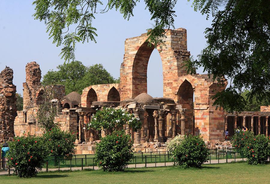 India Photograph - Qutab Minar Ruins by Aidan Moran