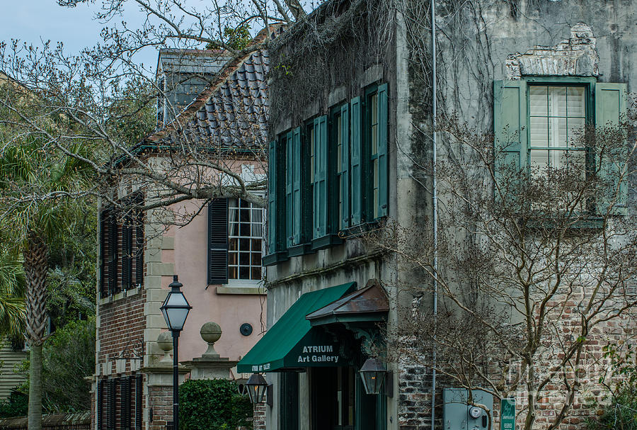 Quuen Street In Charleston Sc Photograph