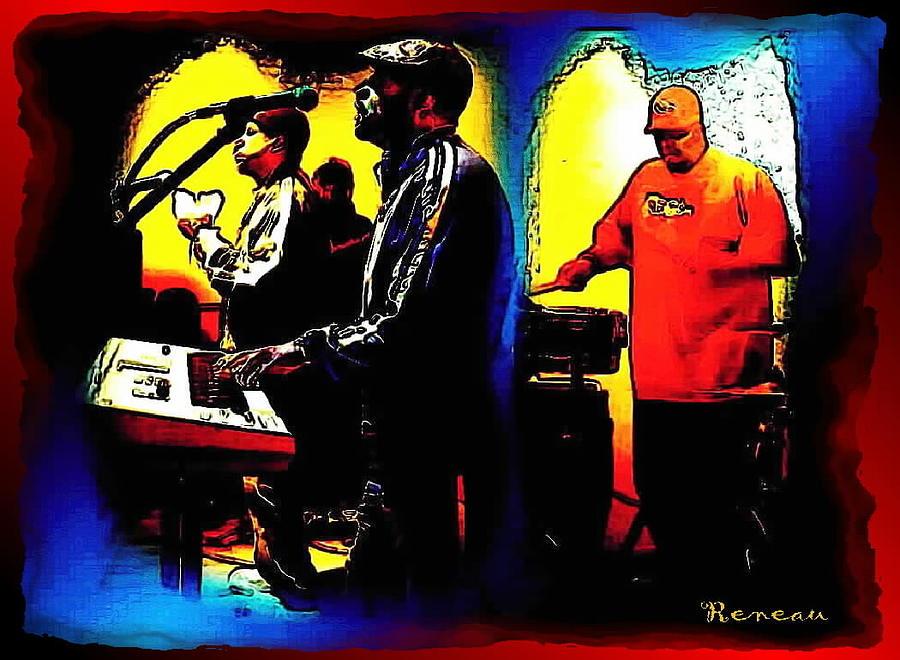 Music Photograph - R And B Band by Sadie Reneau