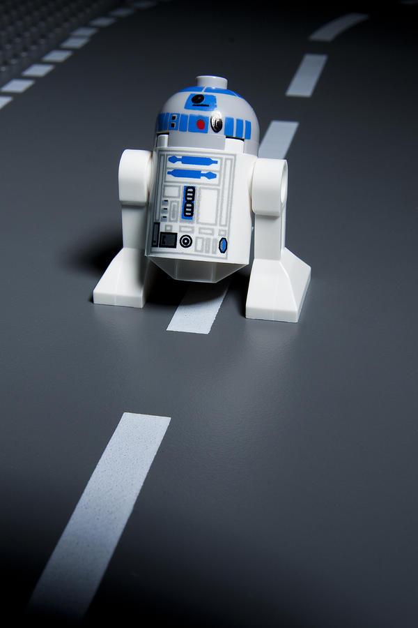 Lego Photograph - R2-d2 by Samuel Whitton