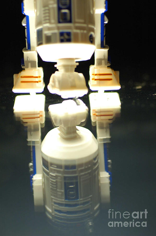 Star Wars Photograph - R2-d2 Toy by Micah May