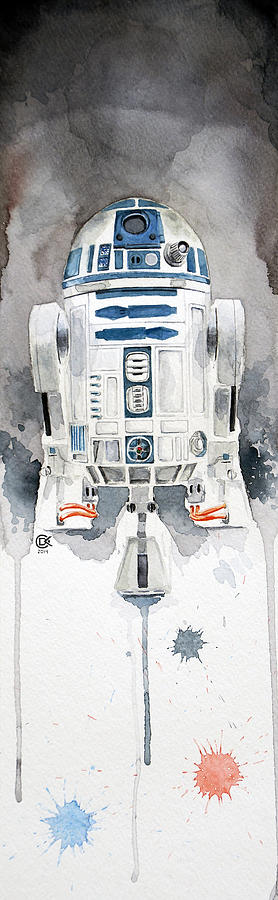 R2d2 Painting - R2 by David Kraig