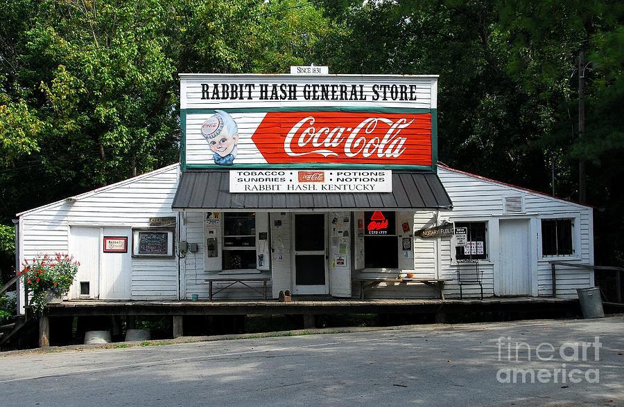 Rabbit Hash Kentucky Photograph - Rabbit Hash by Mel Steinhauer