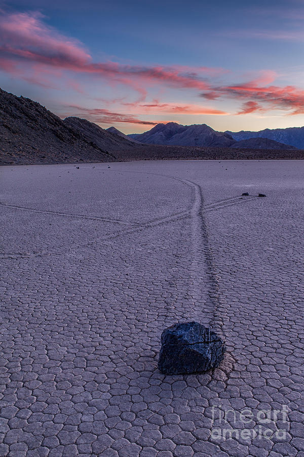 California Photograph - Race Track Death Valley by Jerry Fornarotto