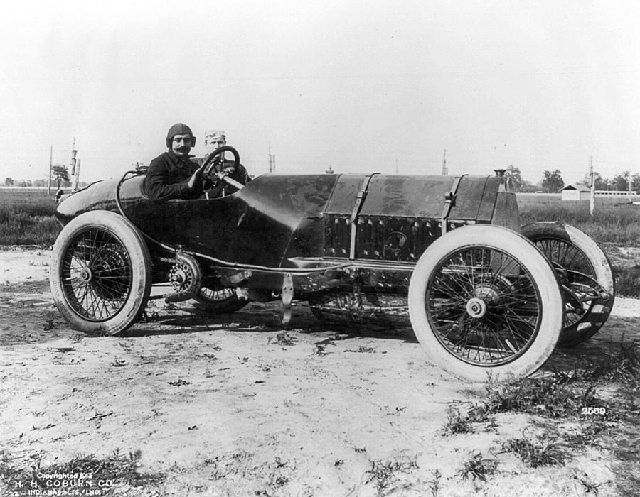 America Photograph - Racecar Drivers, C1913 by Granger