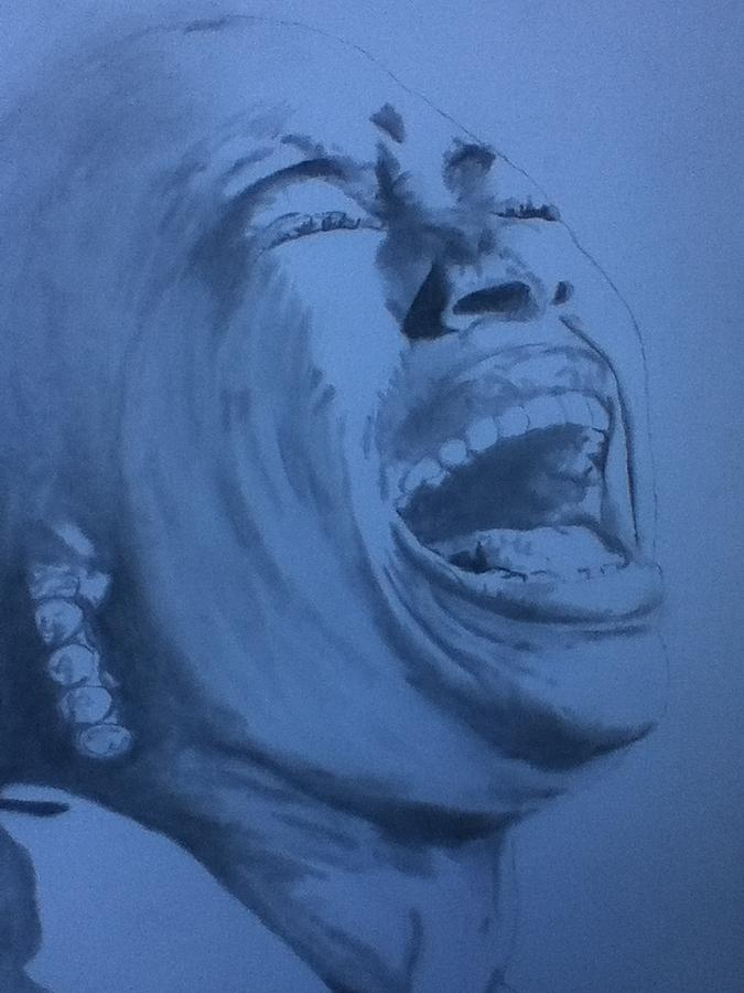 Rachelle Ferrell Drawing - Rachelles Passion by b jAXON