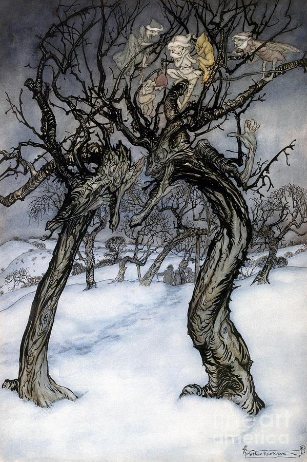1921 Photograph - Rackham: Whisper Trees by Granger