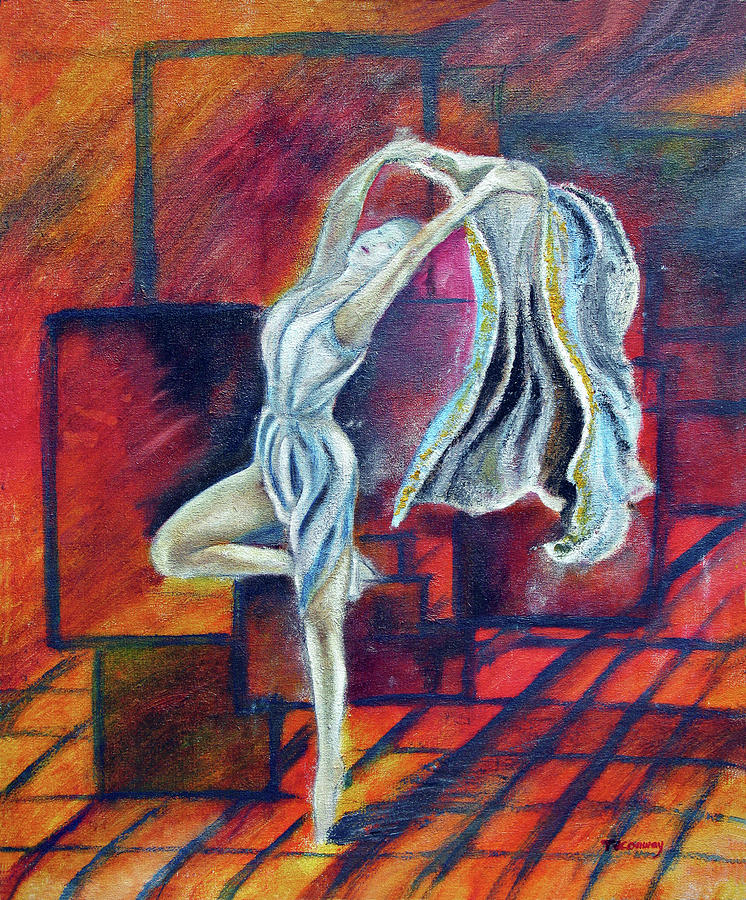 Dance Painting - Radancer by Tom Conway