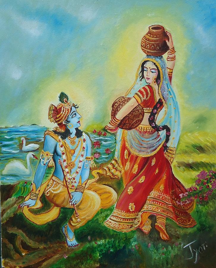Images Of Radha Krishna Painting