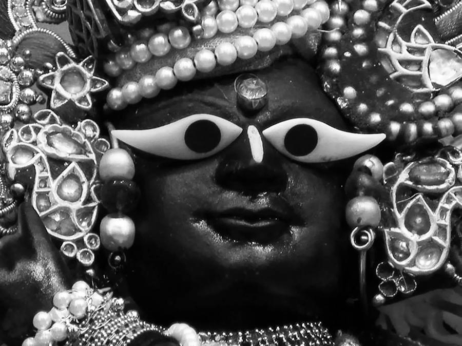 Shaligram Photograph - Radha-raman by Lila Shravani