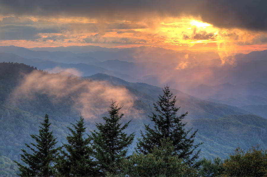 Great Smoky Mountains National Park Photograph - Radiance by Doug McPherson