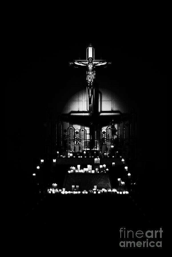 Radiant Light - Black Photograph