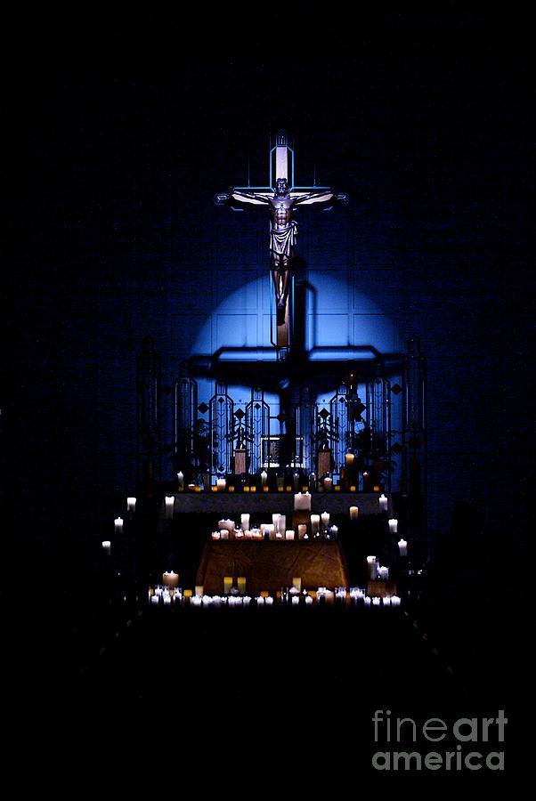 Christ Photograph - Radiant Light by Frank J Casella