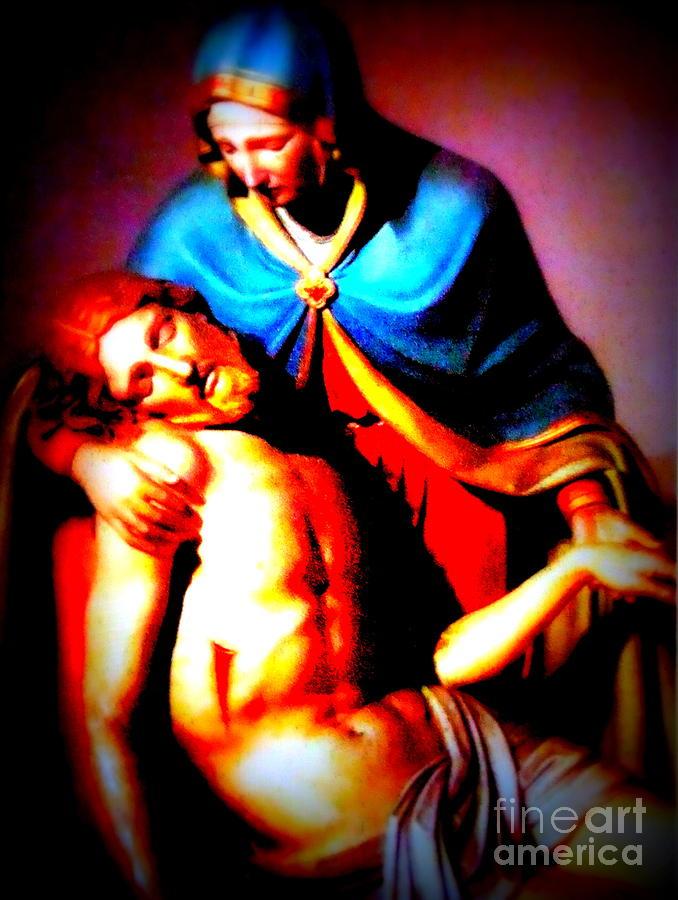 Religious Painting - Radiant Love by W  Scott Fenton