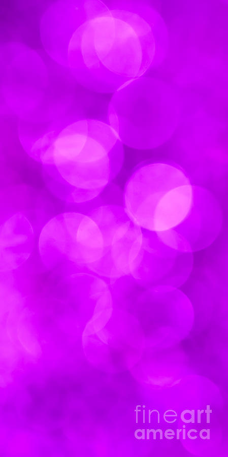 Abstract Photograph - Radiant Orchid Abstract by Jan Bickerton