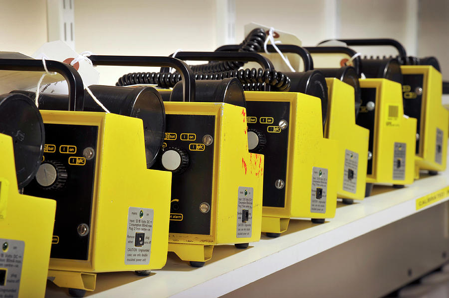 Equipment Photograph - Radiation Monitors by Public Health England