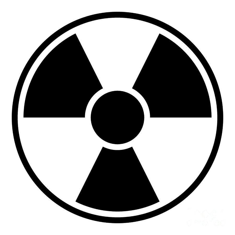 Radiation Warning Sign Digital Art By Henrik Lehnerer