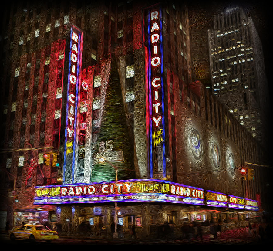 Rockettes Photograph - Radio City Christmas In December by Lee Dos Santos