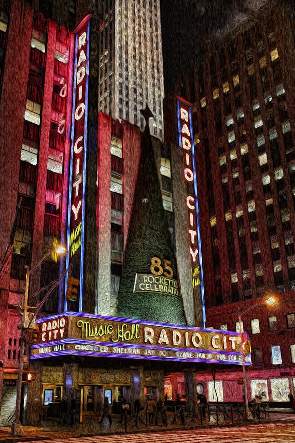 Holiday Season Photograph - Radio City Music Hall Anniversary  by Lee Dos Santos