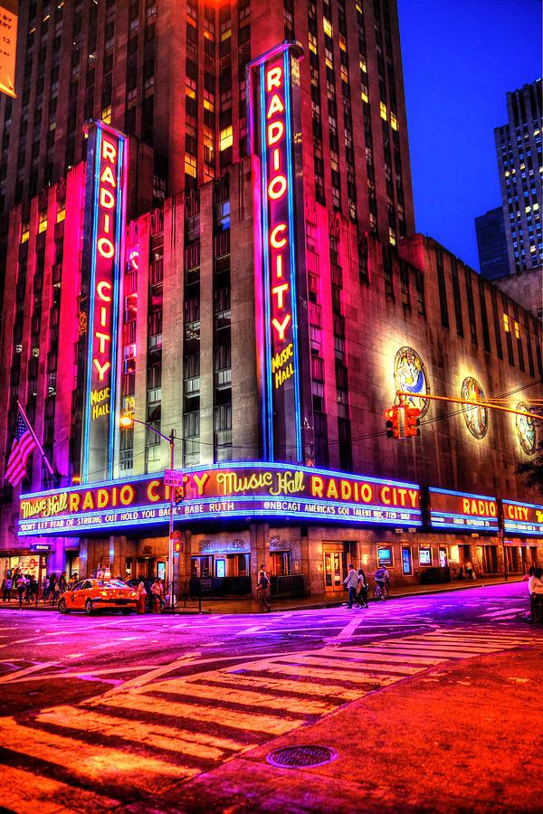 Radio City Music Hall Photograph - Radio City Music Hall by Randy Aveille