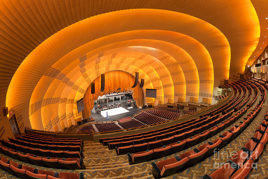 Radio City Music Hall V Photograph by Clarence Holmes