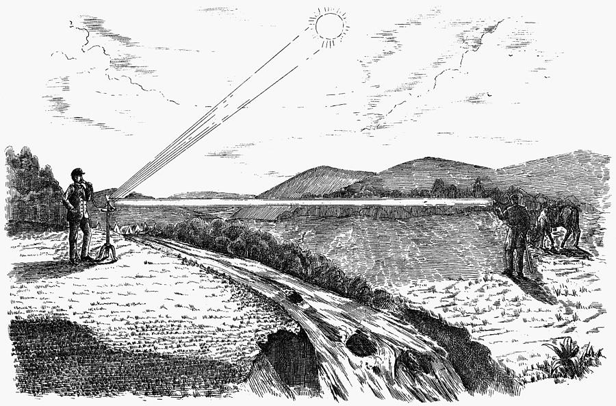 1880 Drawing - Radiophone, 1880 by Granger