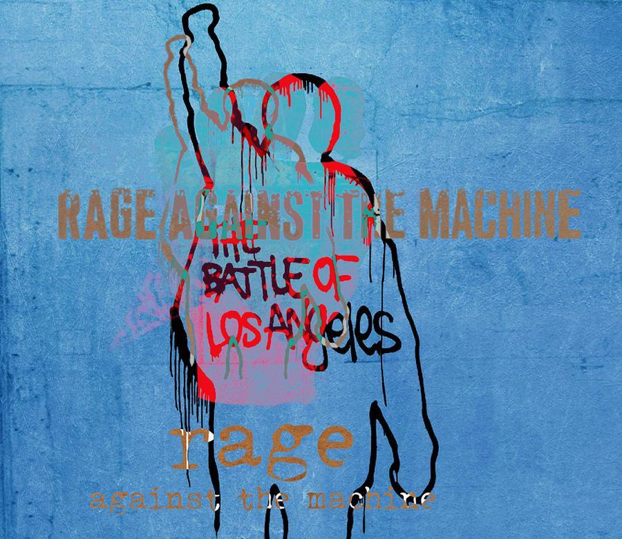 Rage Against The Machine Digital Art - Rage Against The Machine by Dan Sproul