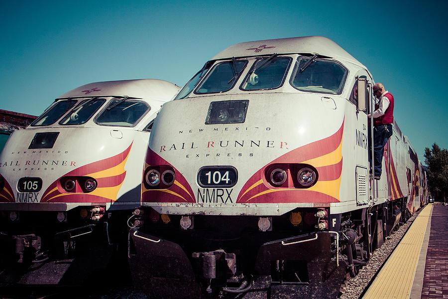 Rail Runner Twins Photograph