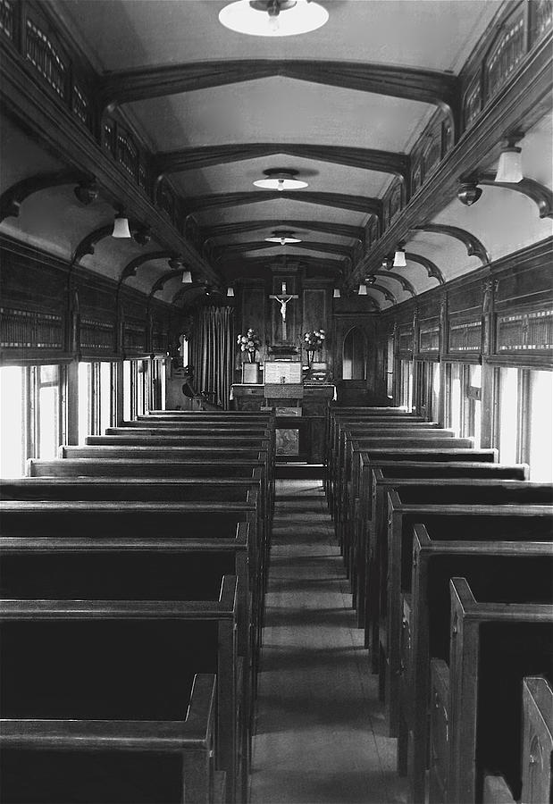 railroad chapel car st paul ghost town nevada city montana 1914 1971 photograph by david lee guss. Black Bedroom Furniture Sets. Home Design Ideas