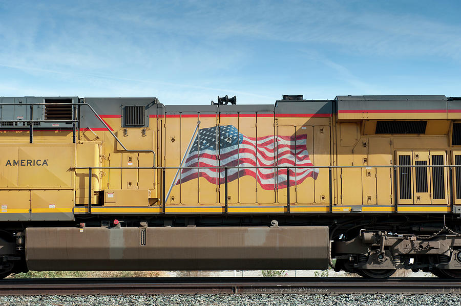 Railroad Engine Photograph by Thomas Winz