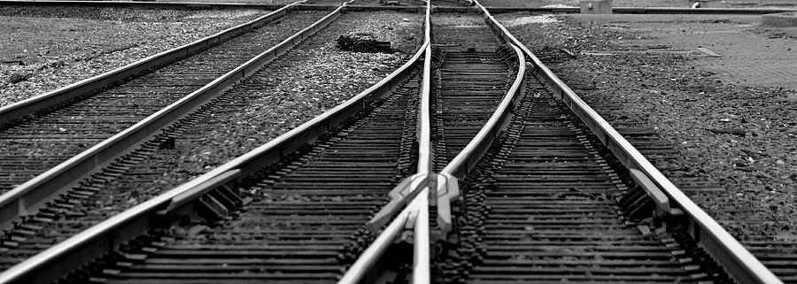 Tracks Photograph - Railroad Highway by Jason Drake