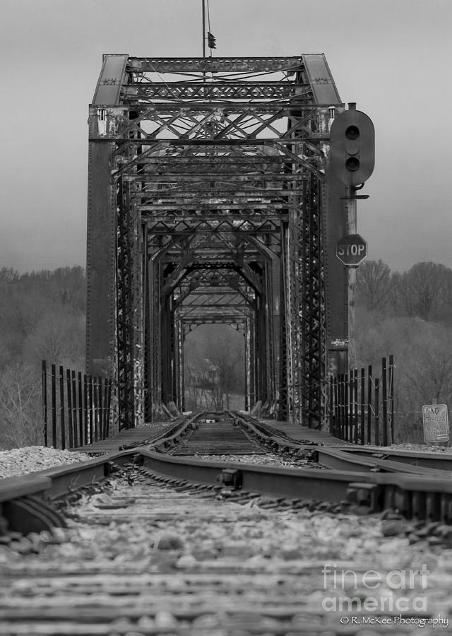 Trestle Photograph - Railroad Trestle by Rick McKee