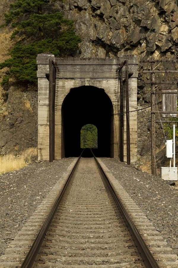 Railroad Tunnel 3 Bnsf 1 A Photograph