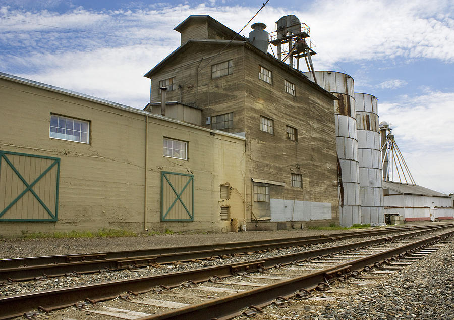 Mill Photograph - Railway Mill by Sonya Lang