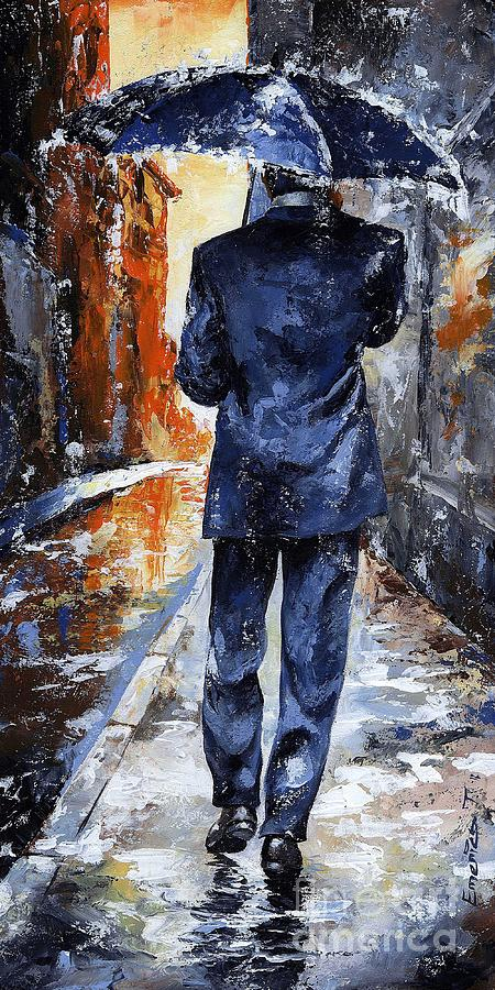 Rain Painting - Rain Day #20 by Emerico Imre Toth