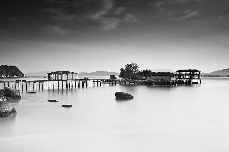 Rain Day In Pangkor Island Malaysia Photograph by Simonlong