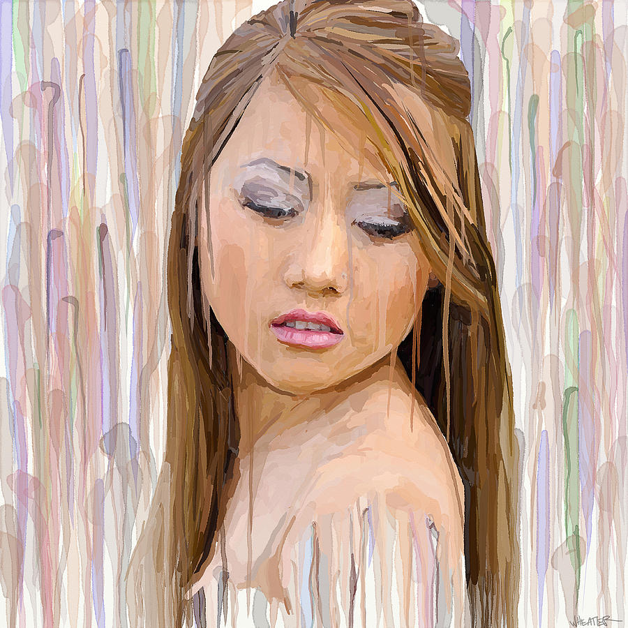 Colorful Painting - Rain Of Color by Robert Wheater