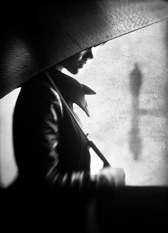 Person Photograph - Rain Please Tell Him... by Sebastian Kisworo