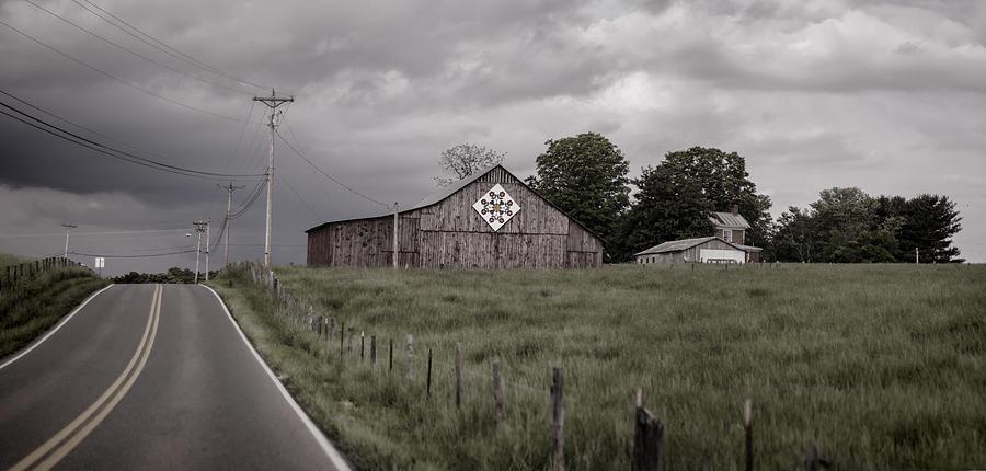 Barn Photograph - Rain Rolling In by Heather Applegate