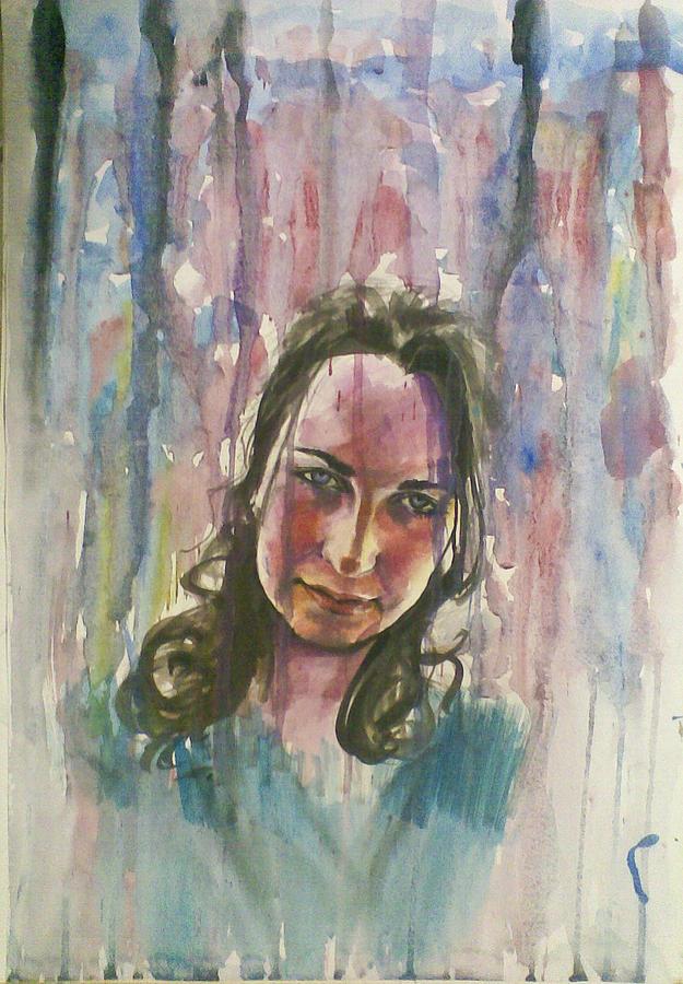 Rain Painting by Vaidos Mihai