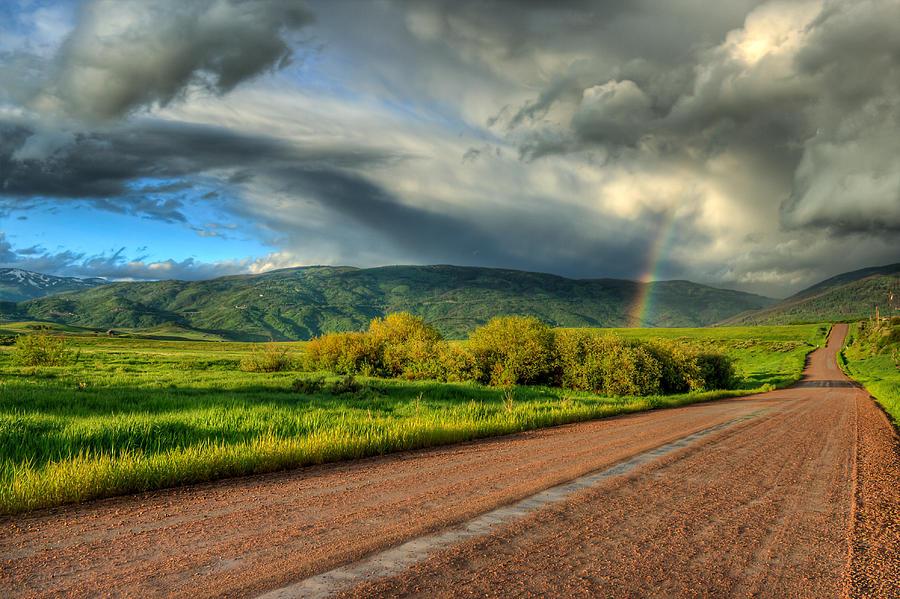 Rainbow Photograph - Rainbow After The Storm by John McArthur