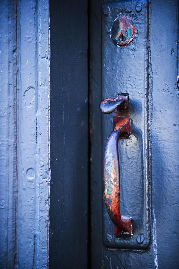 Rust Photograph - Rainbow Entry by Sydney Mercer