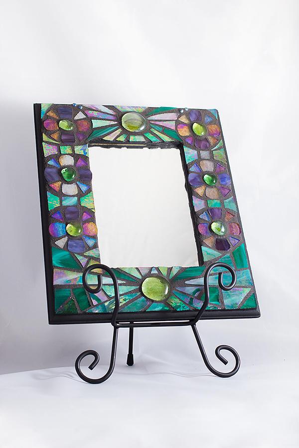 how to put a canvas inside a glass frame