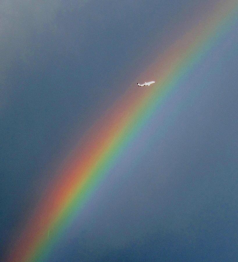 Rainbow Photograph - Rainbow Gods Promise. by Joyce Woodhouse