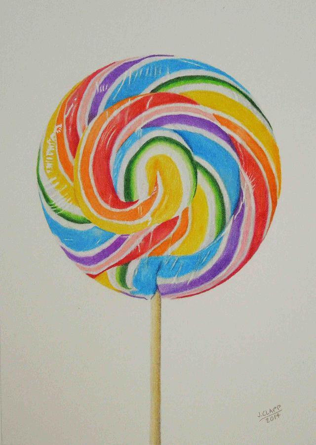 Images Of Colored Lollipops In Paintings