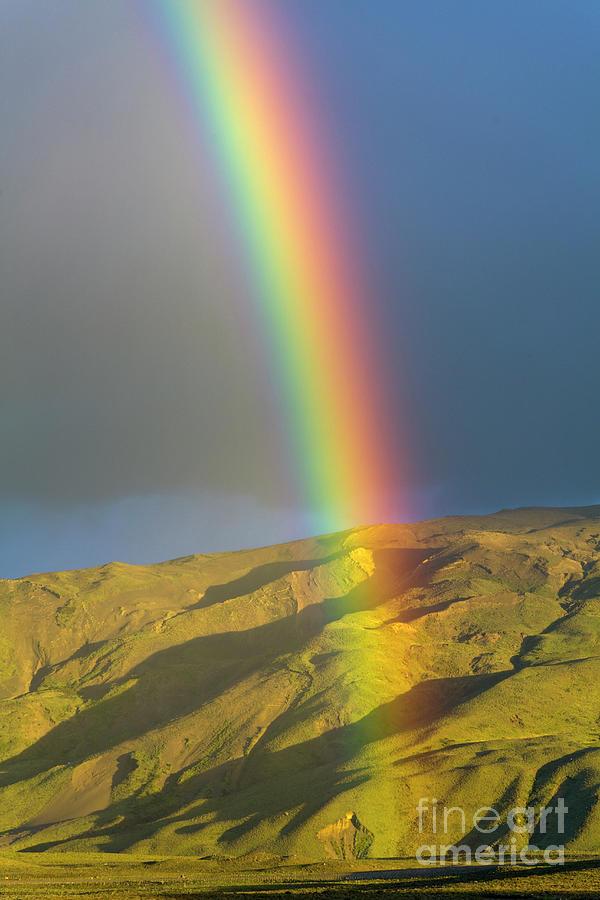 Rainbow Los Glaciares National Park Photograph by Yva Momatiuk and John Eastcott
