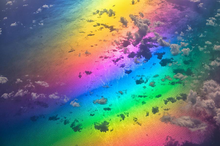 Rainbow Photograph - Rainbow Ocean by Eti Reid