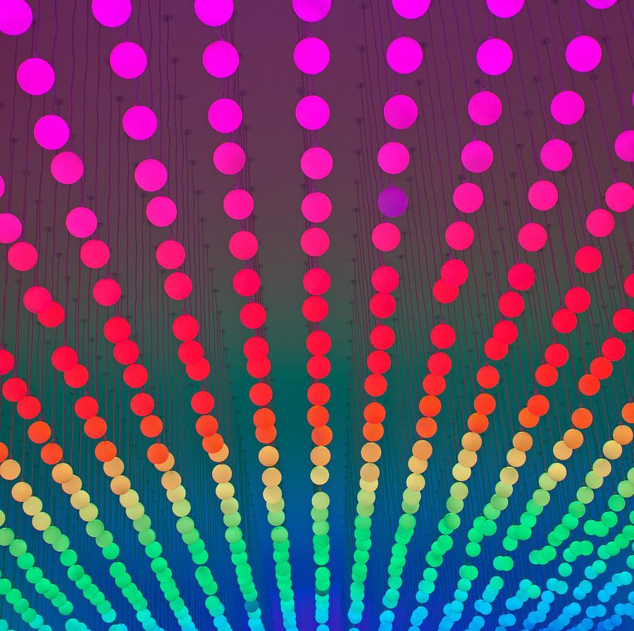 Rainbow Photograph - Rainbow Of Lights by Jean Haynes